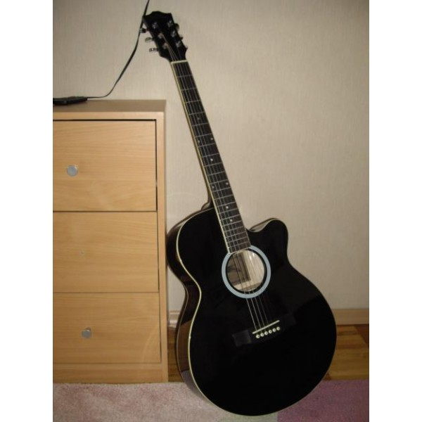 Akustinė gitara Starsun DRW42C BK