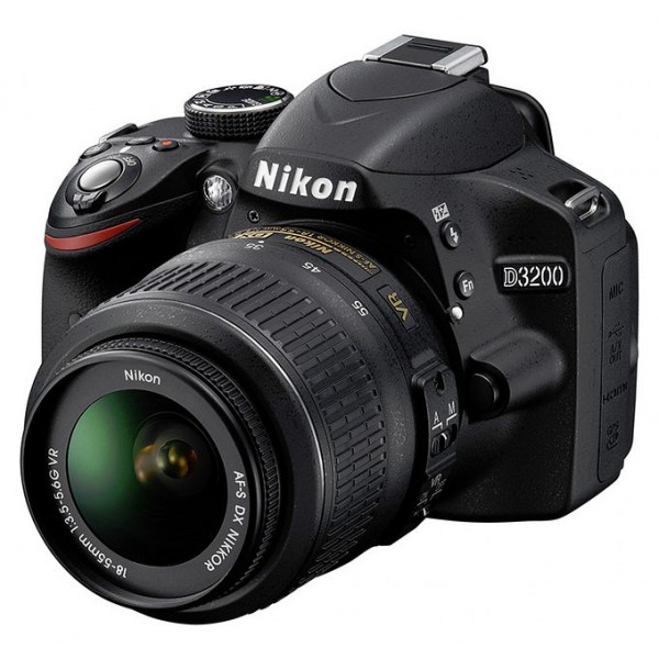 Nikon D3200 objekyvas Nikkor 18-55