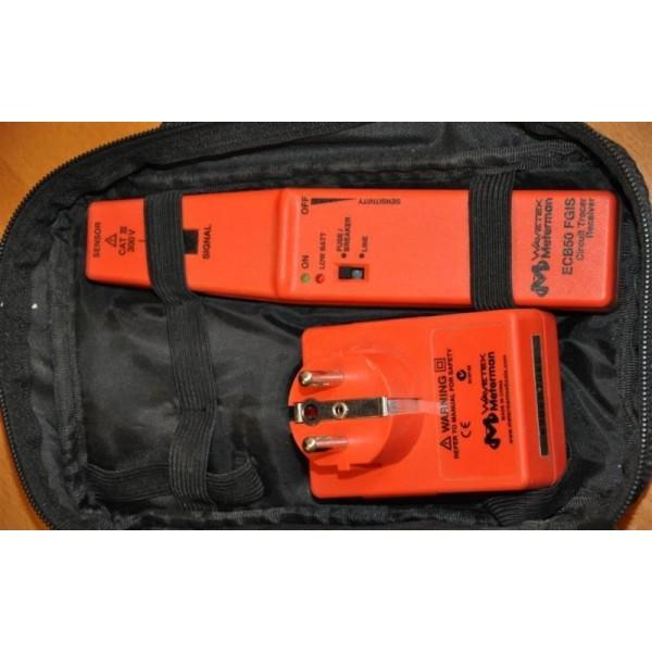 Saugiklių - atjungiklių ir potinkinės instaliacijos kabelių ieškiklis Meterman ECB50 FGIS
