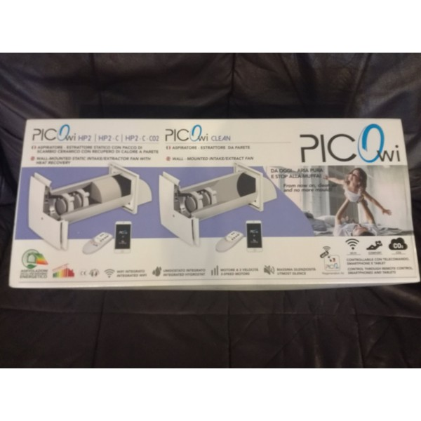 Naujas sieninis mini rekuperatorius Pico Reco 100 WI-FI