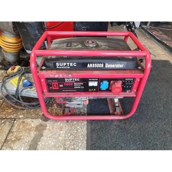 Benzininis elektros generatorius SUPTEC 5 kW (AK-6500)