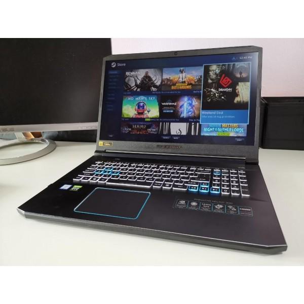Acer Predator PH317-53 i7/16gb/1tb+256gb ssd