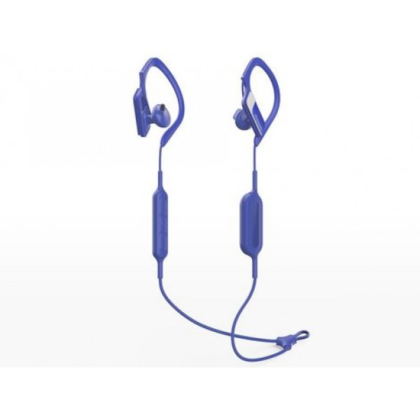 PANASONIC RP-BTS10E-A BLUETOOTH IN-EAR SPORT EARPHONES BLUE. NAUJOS.