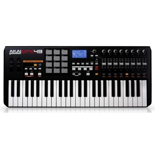 Akai mpk 49 usb klaviatūra/kontroleris