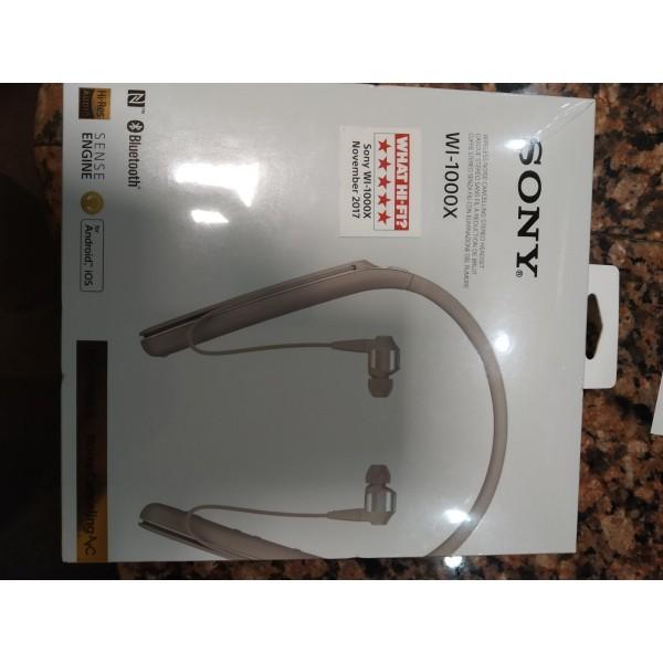 Naujos ausinės SONY WI-1000X į ausis, belaidės