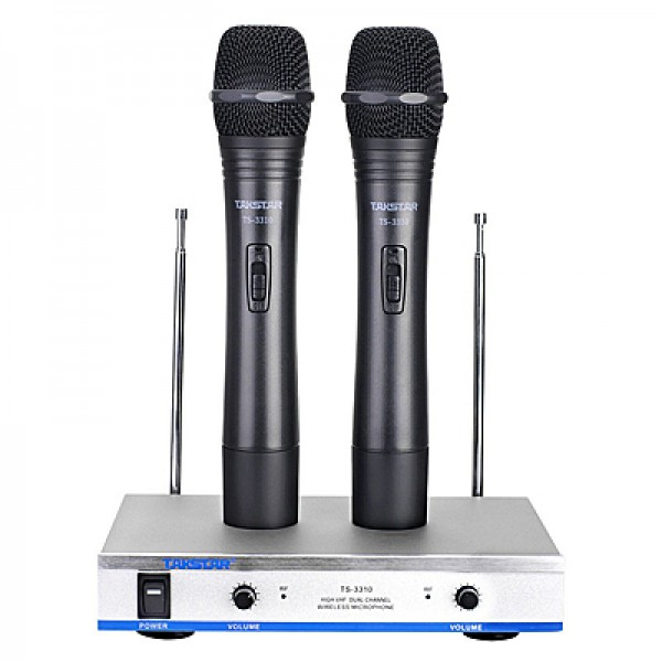 Nauja belaidė mikrofonų sistema Takstar TS-3310