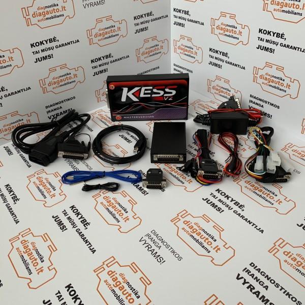 KESS V5.017 ECU/DPF/EGR/Lambda chip tiuningavimo ir programavimo įranga