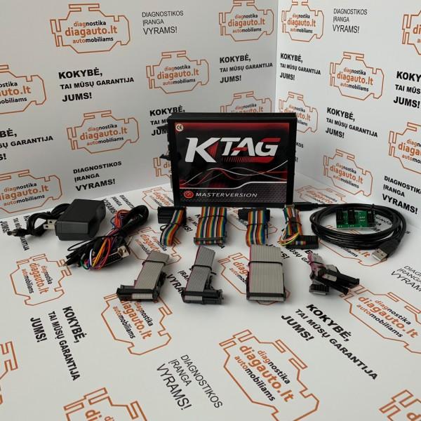KTAG V7.020/V2.23 MASTER EU RED chip tiuningavimo įranga