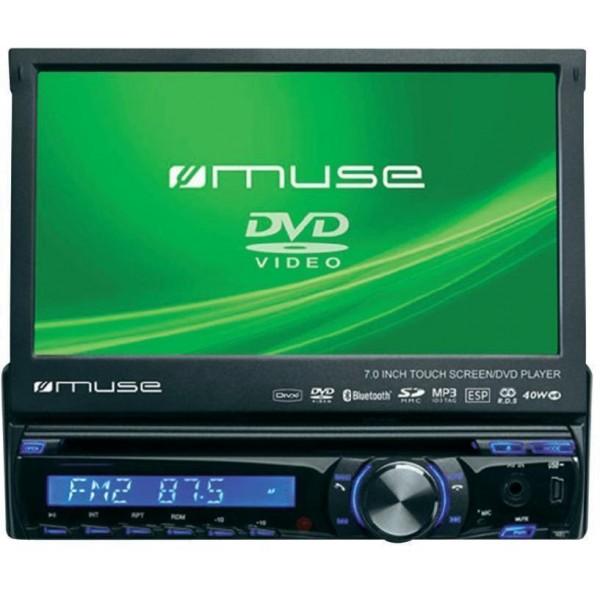 Automobilinė magnetola Muse DVD BT M-728DR. Nauja.