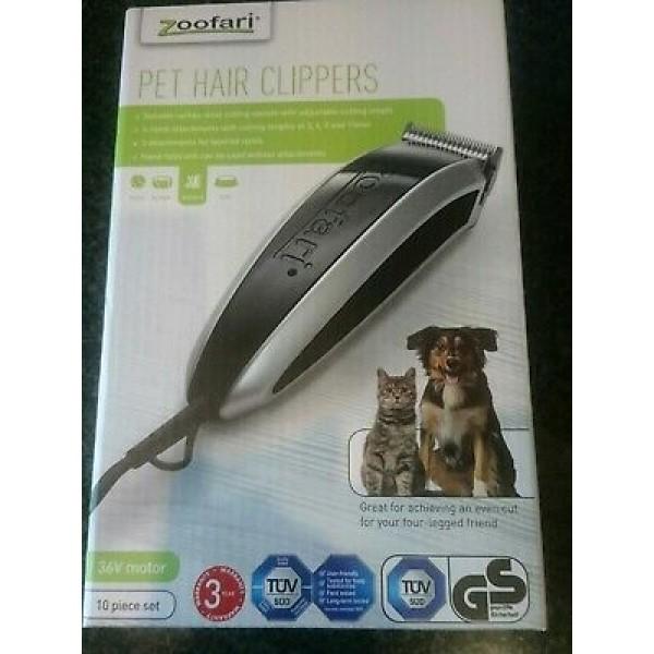 Nauja gyvūnų kirpimo mašinėlė Zoofari Pet Hair Clippers