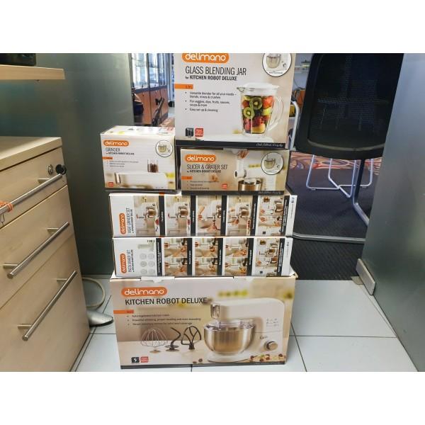 Naujas Delimano Kitchen Robot Deluxe virtuvinis kombainas su priedais