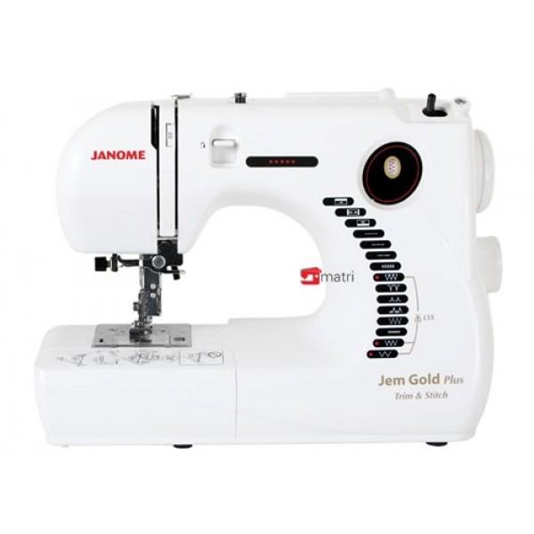 Nauja siuvimo mašina Janome Jem Gold Plus