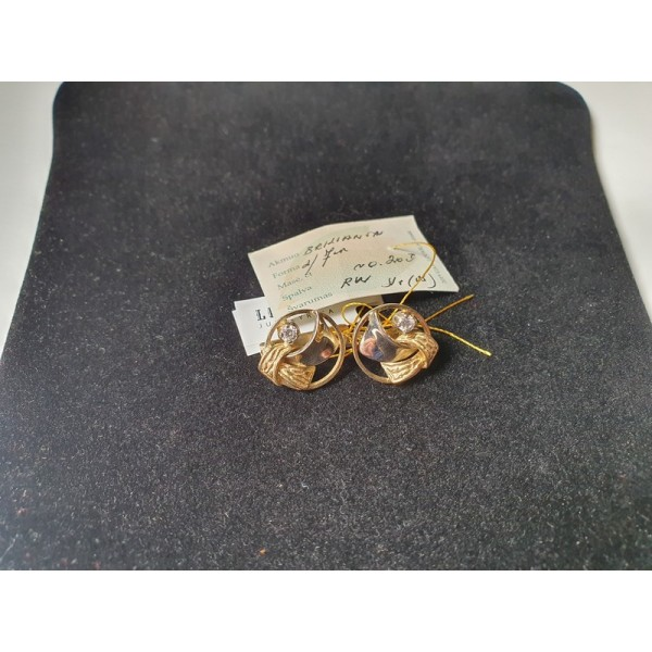 Auksiniai auskarai