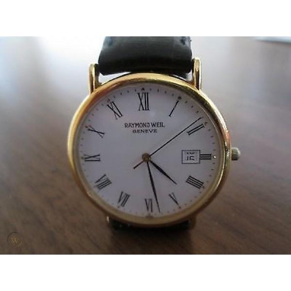 Paauksuotas laikrodis Raymond Weil Geneve 18k 9143